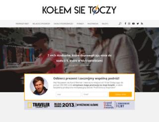 kolemsietoczy.pl screenshot
