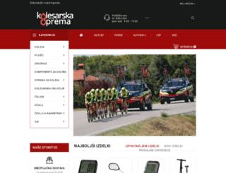 kolesarska-oprema.si screenshot
