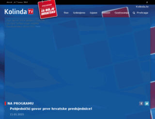 kolinda.tv screenshot