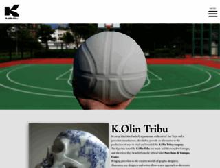 kolintribu.com screenshot