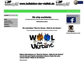 kollektion-der-vielfalt.de screenshot