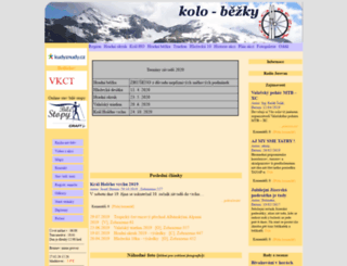 kolo-bezky.cz screenshot