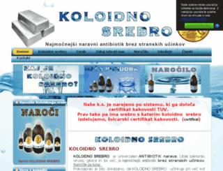 koloidnosrebro.net screenshot