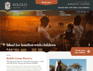 kololo.co.za screenshot