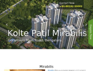 koltepatil-mirabilis.call-now.co.in screenshot