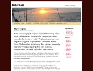 kolumbada.wordpress.com screenshot