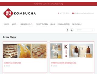 kombuchabrooklyn.com screenshot