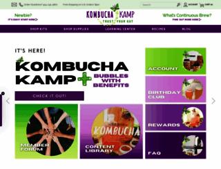 kombuchakamp.com screenshot