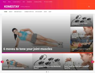 komestay.com screenshot