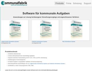 komfa.de screenshot