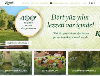 komilizeytinyagi.com.tr screenshot