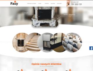 kominkifany.pl screenshot