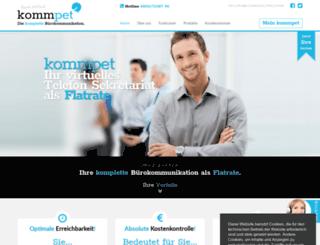 kommpet.de screenshot