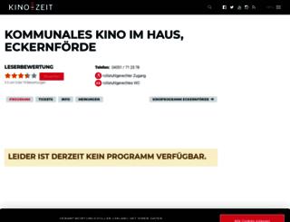 kommunales-kino-im-kulturzentrum-das-haus-eckernforde.kino-zeit.de screenshot