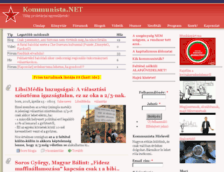 kommunista.net screenshot