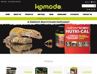 komodoproducts.com screenshot