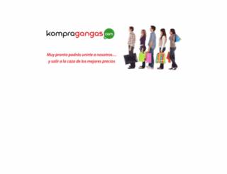 kompragangas.com screenshot