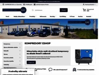 kompresory-servis.sk screenshot