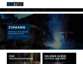 kon-tech.sk screenshot