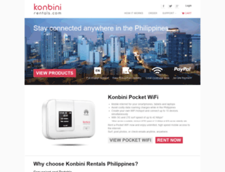 konbinirentals.com screenshot
