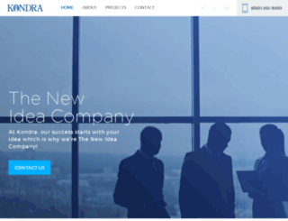 kondra.com screenshot