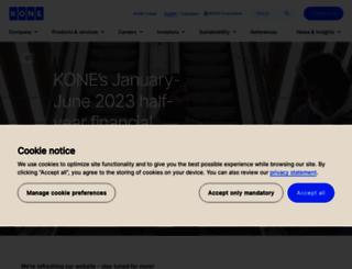 kone.com screenshot