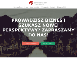 konfederacjabiznesu.pl screenshot