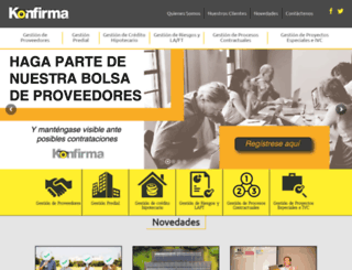 konfirma.com.co screenshot