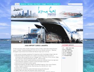 konghai-cargo.com screenshot