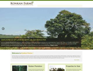 konkanfarms.com screenshot