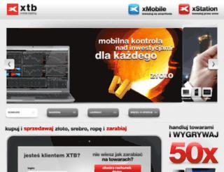 konkurs.xtb.pl screenshot