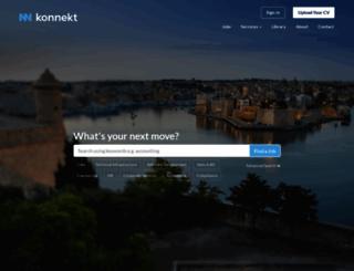 konnekt.com screenshot