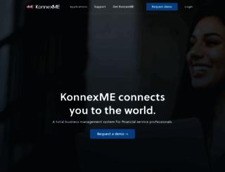 konnexme.com screenshot