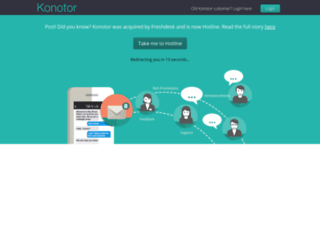 konotor.com screenshot