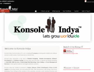 konsoleindya.com screenshot