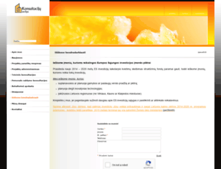 konsultacijuavilys.lt screenshot
