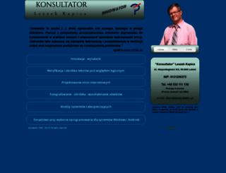 konsultator.pl screenshot
