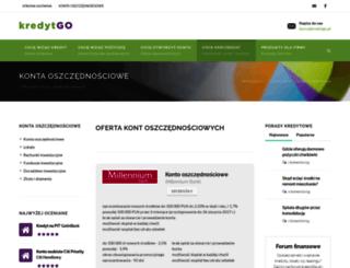 kontaoszczednosciowe.kredytgo.pl screenshot
