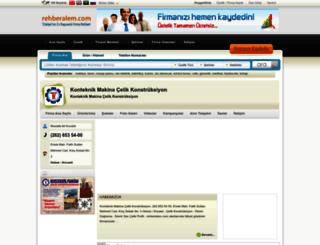 konteknik_makina.rehberalem.com screenshot