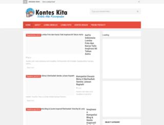 kontes21.blogspot.com screenshot