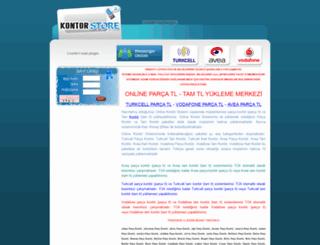 kontorstore.com screenshot