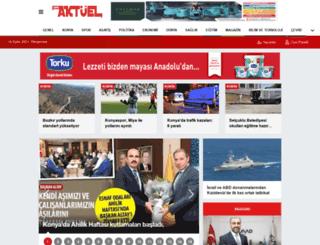 konyaaktuel.com.tr screenshot