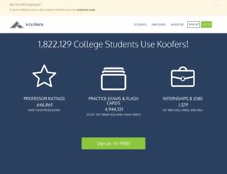 koofers.com screenshot