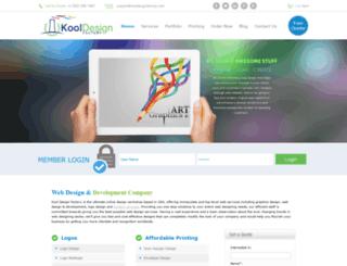 kooldesignfactory.com screenshot