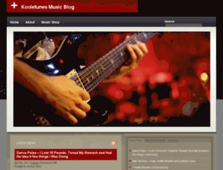 kooletunes.net screenshot