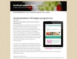 koolhydraatdieet.com screenshot