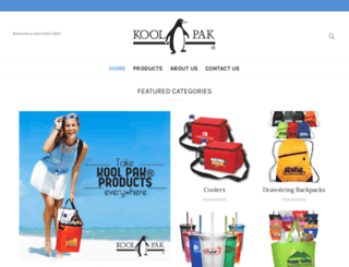 koolpak.com screenshot