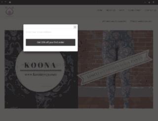 koonayoga.com screenshot