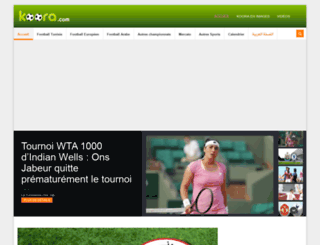 koora.com screenshot
