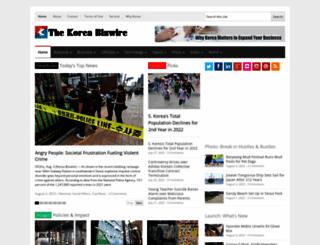 koreabizwire.com screenshot